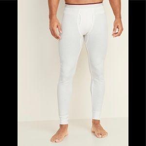 Men's thermal knit Long John underwear